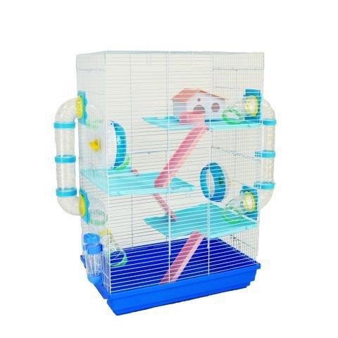 Große Little Zoo Harriett Hamsterkäfig in blau