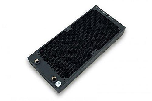 EK Water Blocks EK-CoolStream CE 280 (Dual) Negro - Accesorio de Refrigeración (145 mm, 320 mm, 45 mm, 1,12 kg)