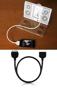 CableJive Rallonge pour iPhone/iPod Touch avec port de connexion Dock 180 cm Blanc