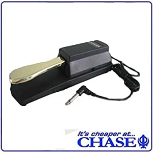Chase CSP001 Keyboard Universal Sustain Pedal for Yamaha, Casio, Roland, Korg Digital Piano