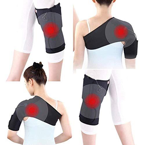 Heatingpad Wärmetherapie - für linkes Knie Größe S/M - Schmerzen Wärmekissen Heizkissen Pad Pflaster Wärm-Flasche Muskelverspannung Heizdecke Unterwegs & Zuhause