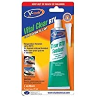 Sellador V-tech, de silicona, transparente RTV 250 C (85 gm)
