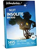 Wonderbox – Coffret Cadeau couple - NUIT INSOLITE EN DUO – 1440 week-ends insolites : yourtes, tipis