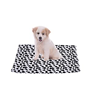 WIDEN Couverture pour animaux de compagnie Soft Warm Sleep Mat Pet Puppy Coral Velvet
