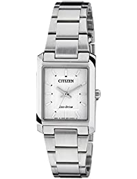 Citizen Eco-Drive Analog White Dial Women's Watch EP5910-59A