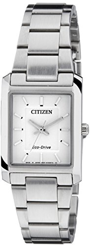 Citizen Eco-Drive Analog White Dial Women's Watch EP5910-59A image
