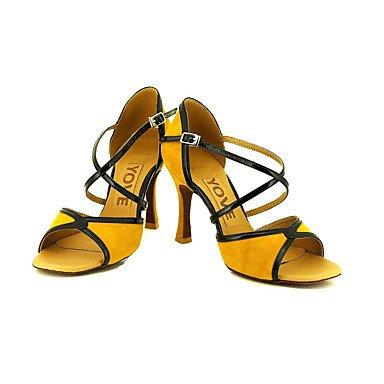 Silence @ Chaussures de danse de Profession pour femme jaune