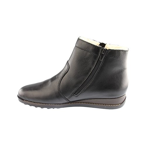Rieker Woman Black Minesota Boot Black f4wrfO