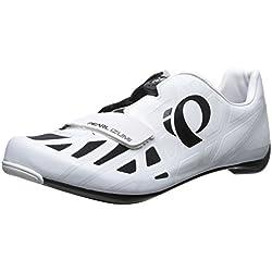 Pearl Izumi Pi M Race Road IV, Zapatillas de Ciclismo de Carretera Hombre, Blanco (Blanconegro), 42 EU