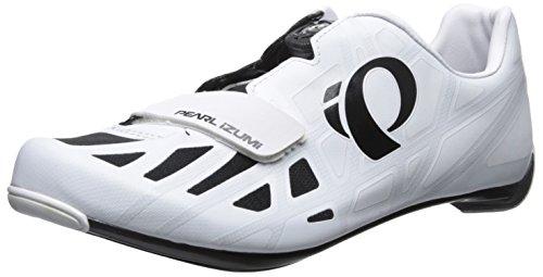 Pearl Izumi Road IV Select Zapatillas de Carretera, Hombre, Blanco / Negro, 47