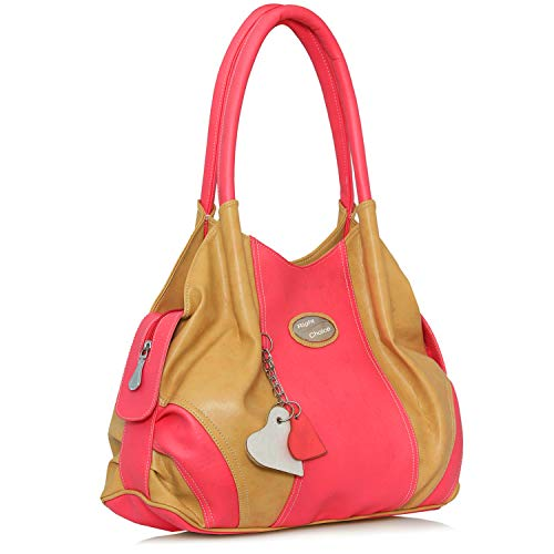 Right Choice (399) beige pink super stylish tuff quality women\'s shoulder hand bags formals (beige pink)