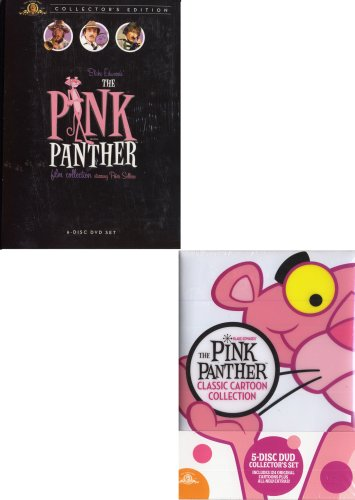 The Pink Panther Film Collection (Boxset) / The Pink Panther Classic Cartoon Collection (Boxset) (2 Pack)