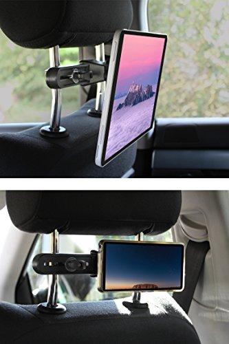 Tablet Halterung Auto, iPad Halterung fürs Auto, Magnet KFZ Halterung, YourDayMate Autohalterung für alle Tablets/Smartphones bis 10.5 Zoll, Samsung Tab Halterung, iPad Air Halterung, Universale Halterung für iPad Pro, iPad mini, iPad Air, Samsung Galaxy Tab