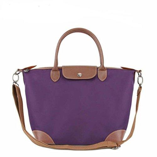 BEKILOLE, Borsa a tracolla donna Purple