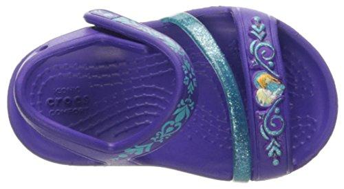 Crocs 204139, Ballerines à Bout Fermé Fille Bleu (Sky Blue)