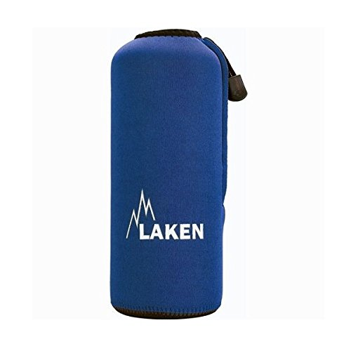 Laken custodia in neoprene blu per bottiglie di alluminio 0,75l