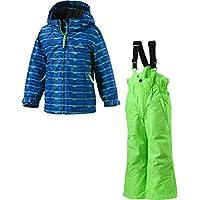 McKinley Klein Kinder Jungen Schneeanzug TIMBER + RAY blau / grün