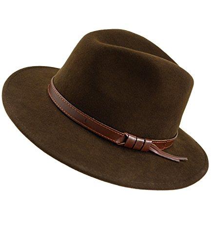EveryHead Fiebig Herrenfilzhut Filzhut Panamahut Cowboyhut Wollhut Regenhut -