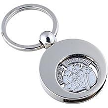 little-presents–Llavero con moneda para el carro de la compra Chip signo Virgo