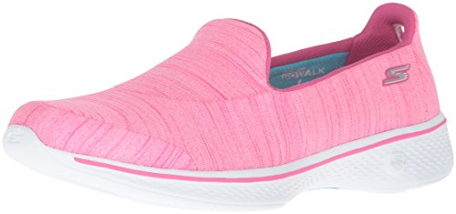Skechers Damen Go Walk 4-Satisfy Laufschuhe, (Hot Pink), 39 EU