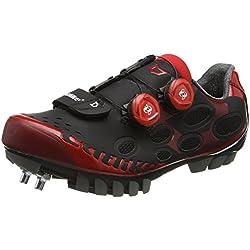 CATLIKE Whisper MTB 2016, Zapatillas de Ciclismo de montaña Unisex Adulto, (Negro/Rojo 000), 40 EU