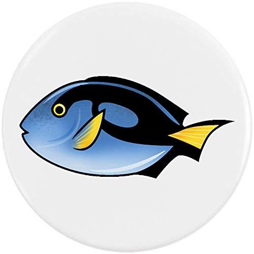 Azeeda 58mm 'Tropischer Fisch' Pin Knopf-Abzeichen (BB00062190) -