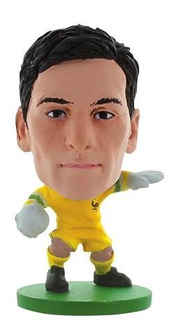 Soccerstarz - 400337 - Figurine - Sport - Le Pack De 1 Figure De L'équipe De France Contenant Hugo Loris Dans Sa Tenue D'équipe De France À Domicile