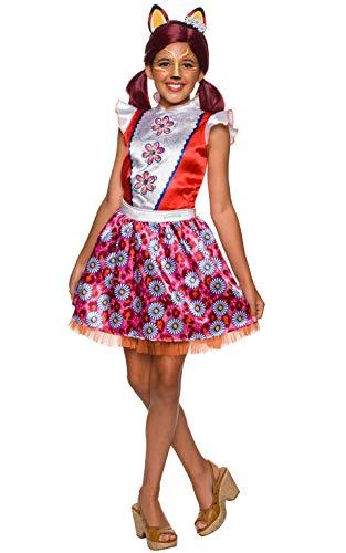 Enchantimals - Disfraz de Felicity Fox para niña, Talla 5-7 años (Rubies 641212-M)