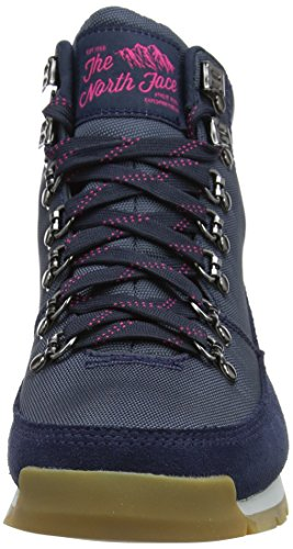 The North Face Back To Berkeley Redux Leather, Bottines marche Femme Multicolore (Urban Navy/cabaret Pink)