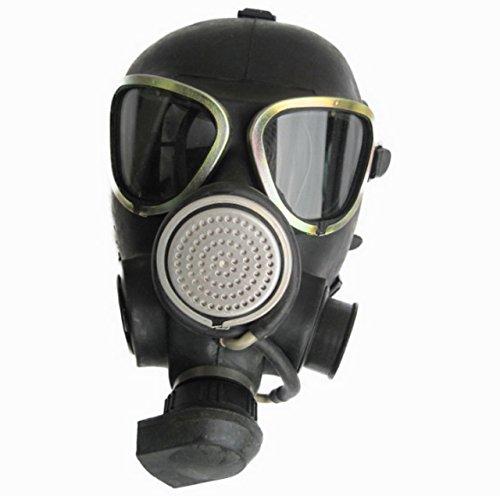 Gasmaske Maske Halloween Faschingsartikel Poppers Gummi (Halloween Gasmaske)