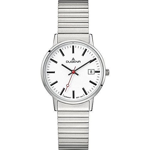 Dugena Women's Analogue Quartz Watch with Stainless Steel Strap 4460750