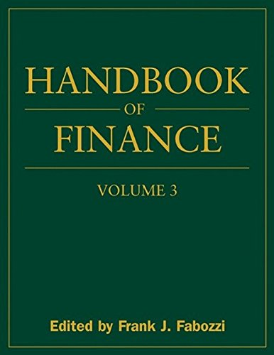 Handbook of Finance: Valuation, Financial Modeling, and Quantitative Tools v. 3