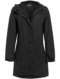 SS7 Femmes à capuche Veste de pluie, Kaki, Noir, Grandes Tailles 18 pour 24
