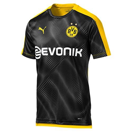 PUMA Herren BVB League Stadium mit Evonik Trikot, Cyber Yellow Black, L