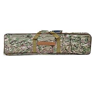 Etui fusil sac poche pour carabine 130cm Camouflage MultiCam