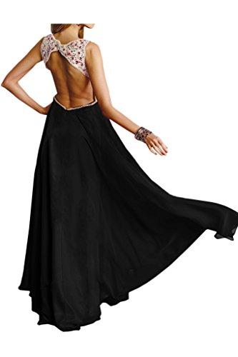 Ivydressing - Robe - Trapèze - Femme Noir - Noir