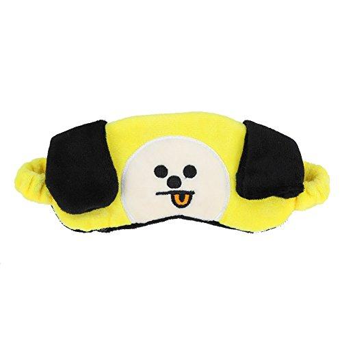Bellenne BTS Augenmaske Schlafmaske Schlafbrille Augenbinde | Kpop Bangtan Boys Band Members Fanartikel | Beste Geschenk für The Army (H03)
