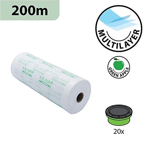 200m Nachfüllfolie für Katzenstreu-Entsorgung Litter Locker II - Entspricht 20 Nachfüllkassetten