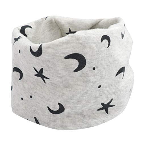 Mitlfuny Unisex Baby Kinder Jungen Zubehör Säuglingspflege,Kind Mädchen Jungen Cartoon Schal Muster Stitching O-Ring Baby Schal Halswärmer
