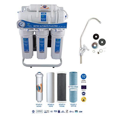 Osmoseanlage 600 GPD Ultimate Plus PRO Basic Edition 2019 Direct Flow kein Tank nötig Umkehrosmosewasserfilter Wasserfilter Trinkwasser Umkehrosmose Reverse Osmosis