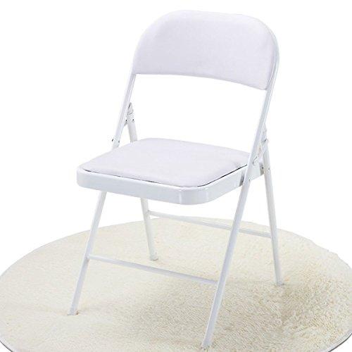 GEXING Chaise Pliante/Home Chaise Pliante/Computer Leisure Chair/Chaise De Bureau Simple/Chaises en Plastique,G-45 * 40 * 79cm