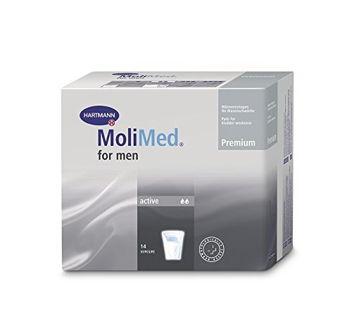 MoliMed Premium for men active - PZN 02347340 - (14 Stück).