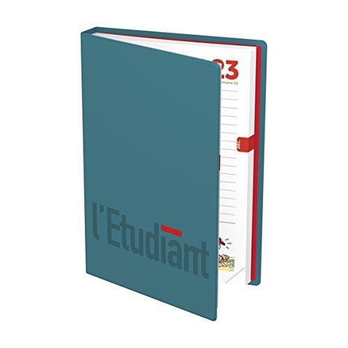 Agenda Journalier L'Etudiant – Septembre 2018 à Septembre 2019-12 x 18 cm – Visuels Aléatoires