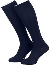 Piarini® - 4 Pares de calcetines largos de ejecutivo - Alto contenido en algodón -