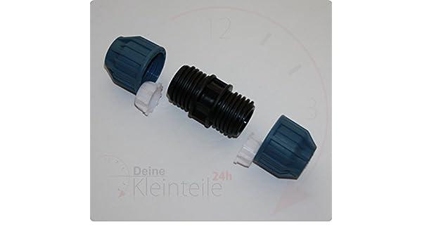 PE Übergang AG Jason Kunststoff PP Klemmverbinder Klemmfitting Verschraubung PEX