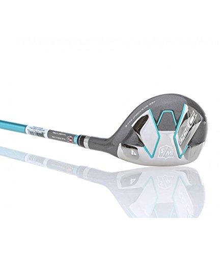 Wilson Golf WGW310005 Hybride de Golf Femme, Bleu