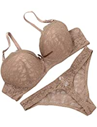 3528d7dfdd1 Amazon.co.uk: Brown - Lingerie Sets / Lingerie & Underwear: Clothing