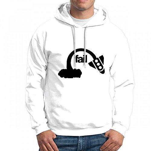 qingdaodeyangguo Sweatshirt for Men Rocketfail F Hoodie
