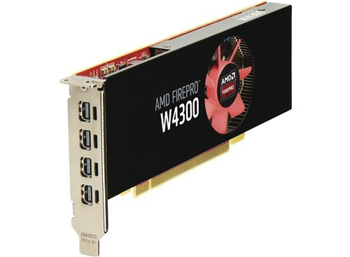 HP Scheda grafica AMD FirePro W4300 4 GB