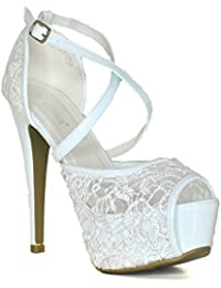 PHOENIX Zapatos de Vestir de Charol Para Mujer